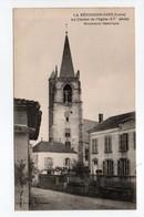 - CPA LA BÉNISSONS-DIEU (42) - Le Clocher De L'Eglise - Edition Mme Prieur - - France