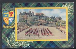 Scotland Postcard - Gordon Tartan - Pipe Bands At Edinburgh Castle   DC1997 - Midlothian/ Edinburgh