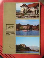 Bled / Veldes - Svetovno Prvenstvo V Veskanju / Ruder-Weltmeisterschaften / Championnats Du Monde A L'Aviron 1966 - Slowenien