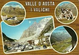"3116 "" VALLE D'AOSTA-I VALICHI "" 4 VEDUTE CART. POST. ORIG. SPED.1976 - Non Classificati"