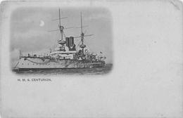 """H.M.S """"CENTURION"""" ~ VINTAGE UNDIVIDED BACK POSTCARD #85617 - Warships"""