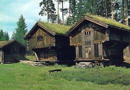 1 AK Norwegen * Kviteseid Bygdetun Ist Eines Der ältesten Freilichtmuseen In Norwegen Und Besteht Seit 1907 * - Norwegen