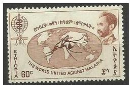 Ethiopia - 1962 Malaria Eradication 60c MLH *     SG 533 - Ethiopia