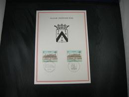 """BELG.1967 1418 FDC Filatelia Card  :  """" Oostende 700 """" - FDC"""