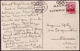 Austria - 1936 C - Olympic Games 1936 - Postcard - Ete 1936: Berlin
