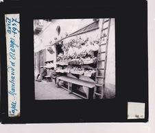Oude Glasplaat (8,5 X 10cm).  CAPRI. Marchand D'Oranges. 1937 - Glasplaten