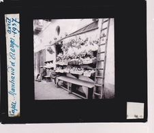 Oude Glasplaat (8,5 X 10cm).  CAPRI. Marchand D'Oranges. 1937 - Plaques De Verre