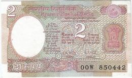India 2 Rupees 1975 Pk 79 J UNC - India