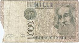 Italia - Italy 1,000 Lire 6-1-1982 Pk 109 A Firmas : Ciampi Y Stevani Ref 10 - [ 2] 1946-… : Repubblica