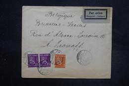 FINLANDE - Enveloppe Pour La Belgique Par Avion En 1930 , Affranchissement Plaisant - L 27061 - Finland