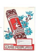 Buvard  Chicorée  Leroux - Buvards, Protège-cahiers Illustrés