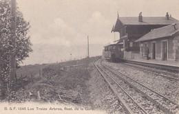 SALEVE ANNEMASSE  LES TREIZE ARBRES REST DE LA GARE  ( Chemin De Fer Tramway ) - France