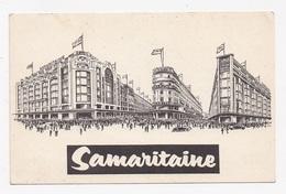 CPSM ILLUSTRATION 75 PARIS 1er Samaritaine Cp D'excuse De Retard De Livraison - Paris (01)