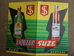 Calendrier Suze    Petit Format.   1957 - Calendriers