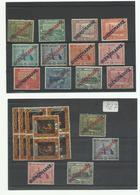 Sarre 1922/24, Timbres De Service, Lot De 30 Valeurs, Cote YT 67€90 - Officials