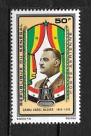 PA - 1971 - N° 108 **MNH - Gamal Abdel Nasser - Sénégal (1960-...)