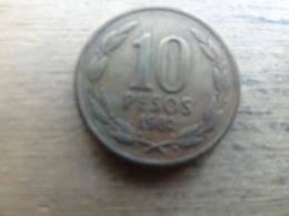 Chili  10  Pesos  1982  Km 218.1 - Chili