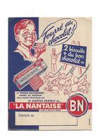 Protège Cahier Biscuits La Nantaise.. - Blotters