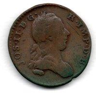 Pays-Bas- Autrichien    -  2 Liards 1782  -  -  Km # 31   -  état  B+ - ...-1831