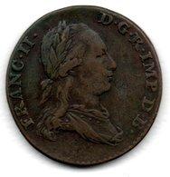 Pays-Bas- Autrichien    -  2 Liards 1793  -  -  Km # 57   -  état  TB+ - ...-1831