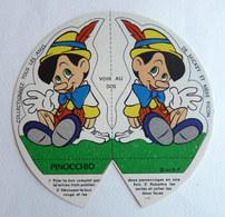 CHROMO PUBLICITAIRE MERE PICON 1965 WALT DISNEY - BLANCHE NEIGE -  FIGURINE PINOCCHIO - Sammelbilder
