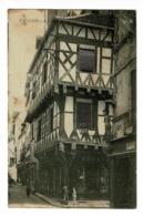 Chalon S Saône - Maison Bert, Rue Saint Pierre & Rue Du Pont (animation) Circulé Sans Date, Timbre Arraché - Chalon Sur Saone