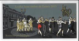 2016 - BLOC SOUVENIR - DANSE TANGO - Souvenir Blocks & Sheetlets