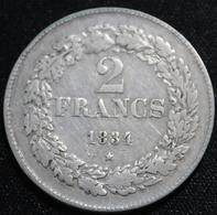BELGIE LEOPOLD I 2 FRANCS 1834  HEEL  MOOIE STAAT 4 SCANS - 1831-1865: Leopold I