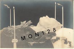 BEETHOVEN - MORT - CARTE PHOTO - Zangers En Musicus