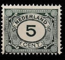 1922 Cijfers, Numbers.  NVPH 107 Ongestempeld - Ongebruikt
