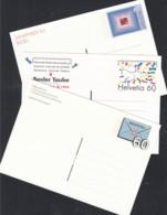 SCHWEIZ  P 253-255, Ungebraucht, 1996/97 - Ganzsachen
