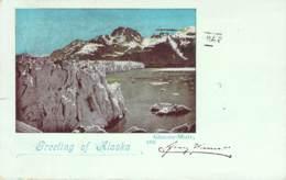 Greetings From Alaska - Glacier-Muir 1899 AKS - Gruss Aus.../ Grüsse Aus...