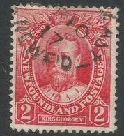 Newfoundland. 1911-16 Coronation. 2c Used SG 118 - Newfoundland