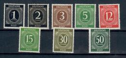 GERMANIA  1946 - EMISSIONI COMUNI PER LE ZONE DI OCCUPAZIONE AMERICANA, BRITANNICA E SOVIETICA ALCUNI VALORI - MNH** - Zona Anglo-Américan