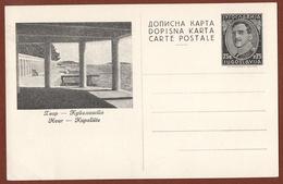 YUGOSLAVIA-CROATIA, ISLAND HVAR, 2nd EDITION ILLUSTRATED POSTAL CARD RRR!!! - Ganzsachen