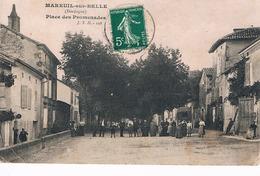 MAREUIL-SUR-BELLE PLACE DES PROMENADES ANNIMEE - Sonstige Gemeinden