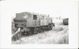 Photo -Thème Chemin De Fer - SNCF - Locomotive Gros Plan  - Train  - - Trains