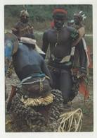 Costumes Do Folclore De Bubaque No Arquipélago Dos Bijagós - Guiné Bissau  ( 2 Scans ) - Guinea-Bissau