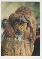 Máscara Do Grupo Folclore - Guiné Bissau  ( 2 Scans ) - Guinea-Bissau