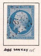 France - PC 4185 - Sanxay - Vienne - 1849-1876: Periodo Classico