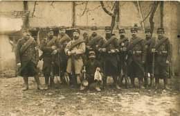 040419 - MILITARIA GUERRE 1914 1918 - CARTE PHOTO ALSACE - Campagne 14 15 N°49 Au Képi - France