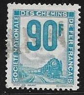 TMBRE N° 21   COLIS POSTAUX 90 F TURQUOISE   -  PETITS COLIS  -  1944 / 1947 - Paquetes Postales