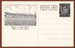 YUGOSLAVIA-CROATIA, MILNA - ISLAND BRAC, 2nd EDITION ILLUSTRATED POSTAL CARD RRR!!! - Postal Stationery