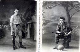 PHOTOS  SOUVENIR D INDOCHINE - Guerre, Militaire