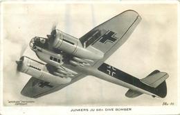 JUNKERS JU 88K DIVE BOMBER ~ AN OLD REAL PHOTO POSTCARD #87926 - 1939-1945: 2nd War