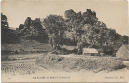 D29 - LA ROCHE MAURICE - Calèche Avec Un Cheval Noir Sur Le Chemin - La Roche-Maurice