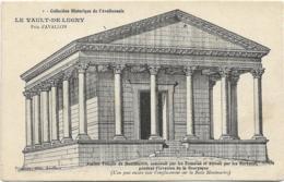 D89 - LE VAULT DE LUGNY - ANCIEN TEMPLE DE MONTMARTRE CONSTRUIT PAR LES ROMAINS ET DETRUIT PAR LES BARBARES ... - Autres Communes