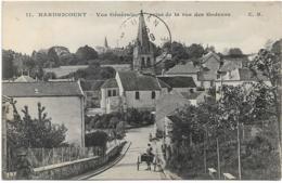 D78  - HARDRICOURT - VUE GENERALE PRISE DE LA RUE DES GODEURS - Charrette - Hardricourt