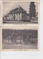 TWEE OUDE POSTKAARTEN ZWITSERLAND - SCHWEIZ -  LES BOIS - BELVAUX - FRIBOURG - FR Fribourg