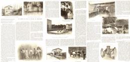 """LE VILLAGE De   """" RAMUNTCHO"""" Et Le JARDIN De LOTI   1908 - Pays Basque"""